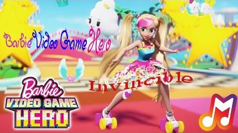 Barbie Video Game Hero - Invincible Lyrics
