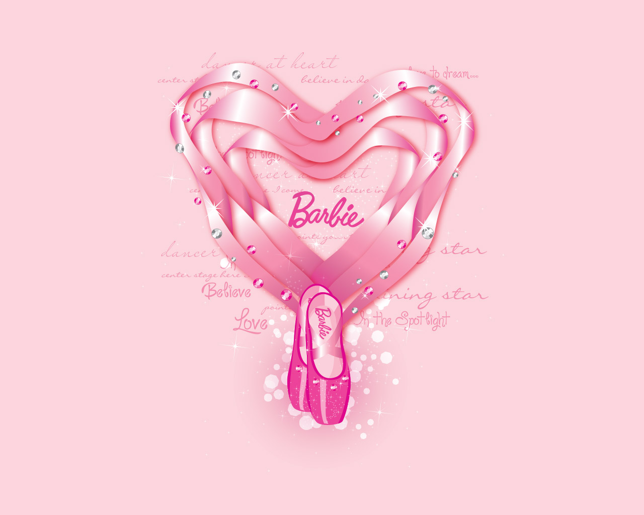 Barbie In The Pink Shoes Wallpaper 2