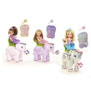 Barbie as The Island Princess Kelly with Elephant Mini Dolls