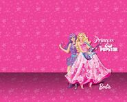 The Princess and The Popstar Wallpaper