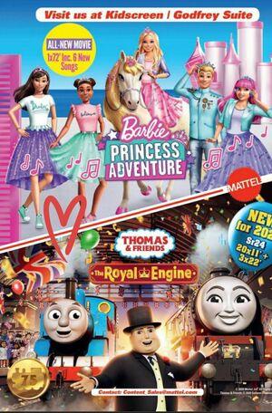 Barbie Princess Adventure Kidscreen Poster