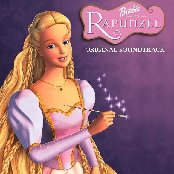 barbie rapunzel music