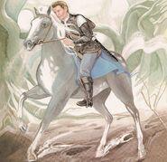 Aidan on his horse