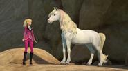 Barbie and Majesty