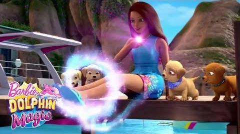 Isla Transform Into A Human Barbie™ Dolphin Magic