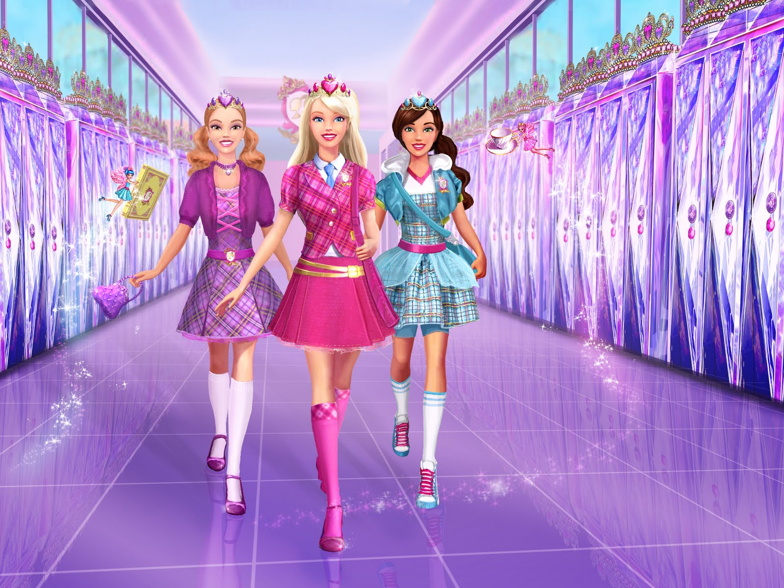 Barbie Princess Charm School (5)