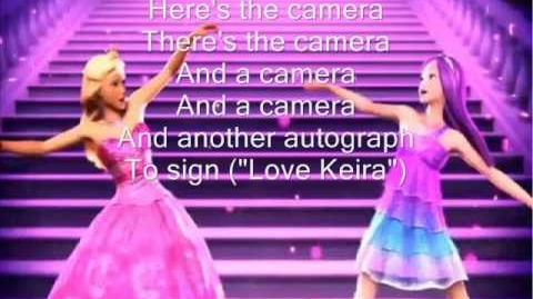 Barbie-to be a princess to be a pop-star lyrics