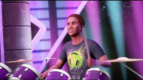 """""""GOTTA GET TO CAMP (REPRISE)"""" - Movie Scene Barbie™ in Rock 'N Royals (HQ)"""