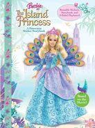 Barbie as The Island Princess A Panorama Sticker Storybook