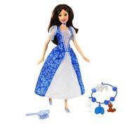 Barbie as The Island Princess Doll with Blue Dress