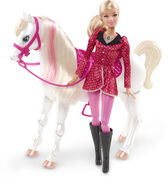 Barbie & Her Sisters in A Pony Tale Doll Barbie and Horse 2