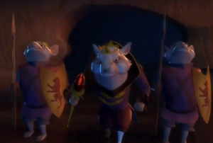 Guarding mouse king