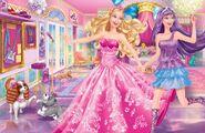 Book Illustration of Princess & Popstar 5