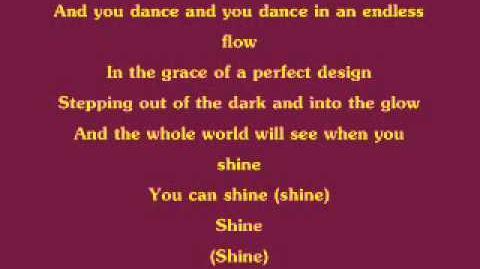 Barbie and The 12 Dancing Princessess - Shine w lyrics