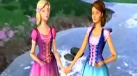 Barbie and the diamond castle song connected