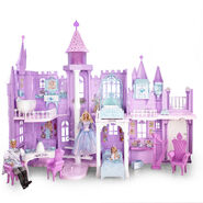 Mattel Barbie of Swan Lake Musical Fantasy Castle Playset
