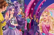 Book Illustration of Princess & Popstar 10