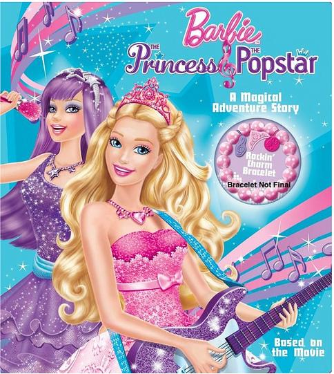 Princess And The Popstar Book Image Barbie