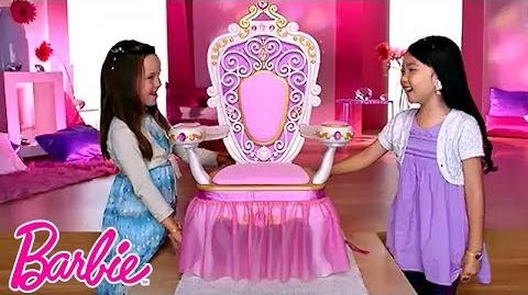 Barbie My Size Throne