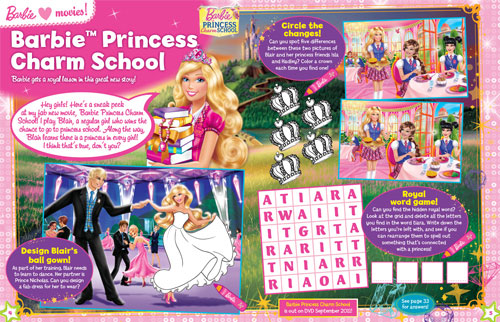 Perfect PrincessCharmSchoolMagazine 2