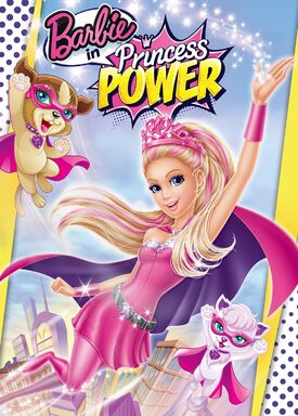 Barbie in Princess Power DVD Cover