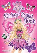 Barbie Mariposa and Her Butterfly Fairy Friends Sticker Scene Book