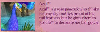 Azul-character info