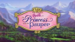 Barbie as The Princess and the Pauper Logo