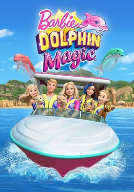 Barbie Dolphin Magic Poster