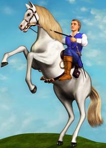 Barbie as Rapunzel Prince Stefan Botticelli