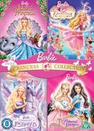 Barbie Princess Collection Island Princess 12 Dancing Princesses Magic of Pegasus Princess and the Pauper Cover