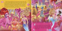 Barbie pearl princess pagebook