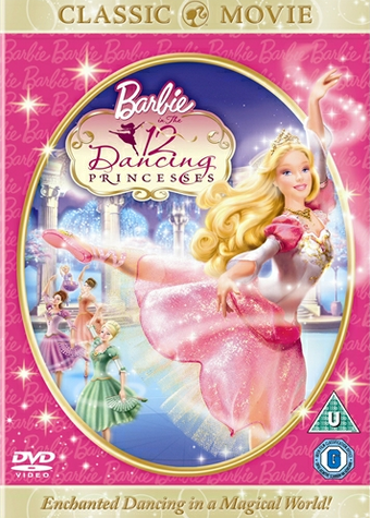 Princess Genevieve The 12 Dancing Princesses Barbie Movies
