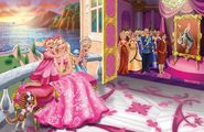 Book Illustration of Princess & Popstar 2