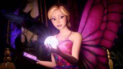 Mariposa in her room