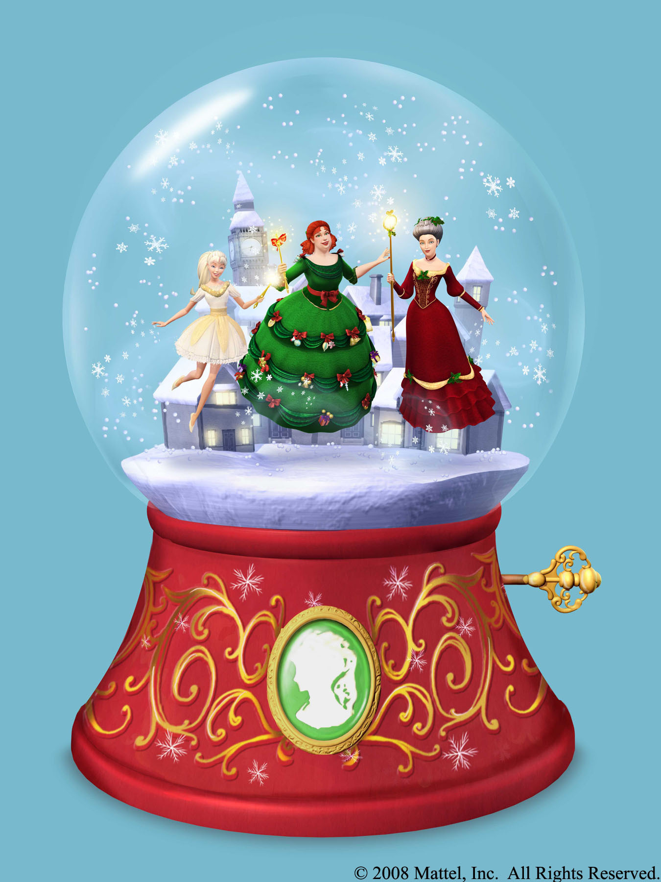 Spirit Of Christmas Past Costume.Snow Globe Barbie Movies Wiki Fandom Powered By Wikia