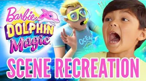 Kids React to Barbie Dolphin Magic™