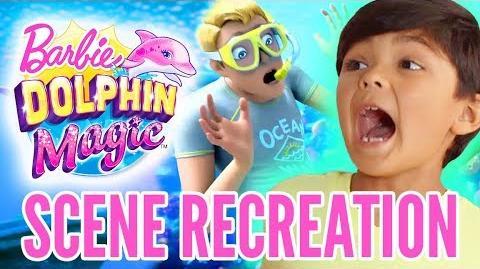 Kids React to Barbie Dolphin Magic™