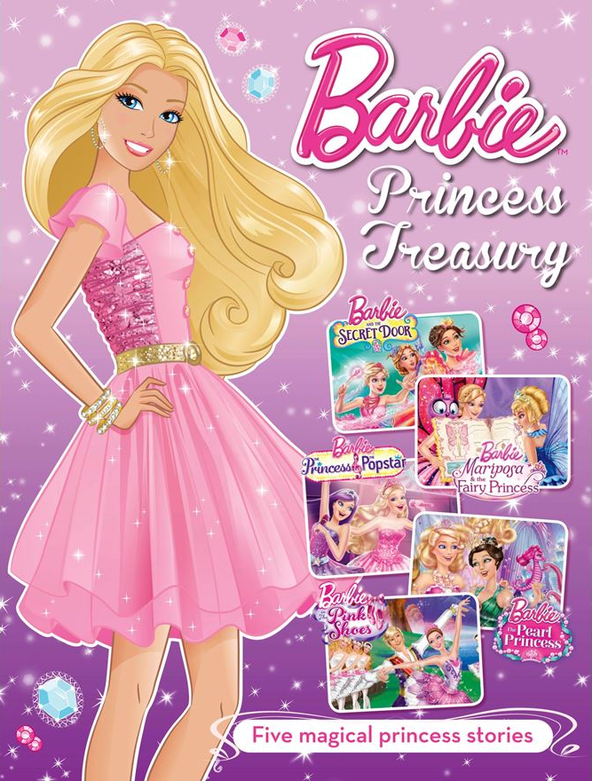Princess Treasury Book Secret Door Mariposa Fairy Popstar Pearl Pink Shoes