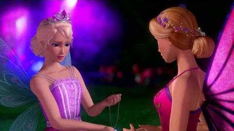 "Barbie Mariposa and the Fairy Princess ""Be A Friend"" Music Video"