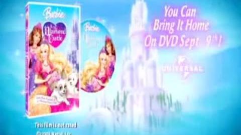 2008 Barbie & Teresa In The Diamond Castle Movie Trailer HQ