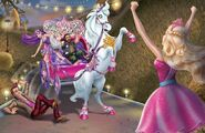 Book Illustration of Princess & Popstar 12