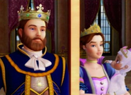 Queen Danielle and King Peter