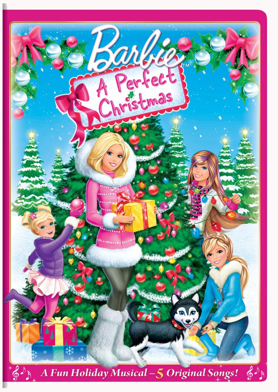 Image - Barbie A Perfect Christmas US DVD.png | Barbie Movies Wiki ...