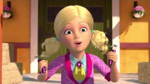 Barbie and her sisters in a pony tale trailer 2013-0