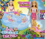 Puppy Chase Swimmin' Pup Pool Playset 1
