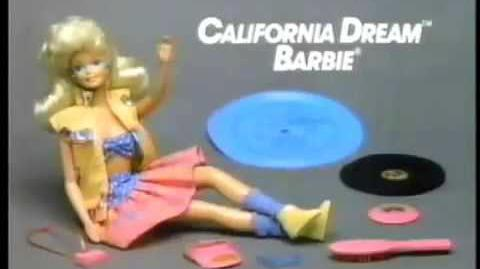 VINTAGE 80'S CALIFORNIA DREAM BARBIE COMMERCIAL VERSION 2