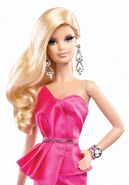 The Barbie Look Red Carpet Barbie Doll (BCP89) 2