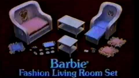VINTAGE 80'S BARBIE DREAM FURNITURE COMMERCIAL