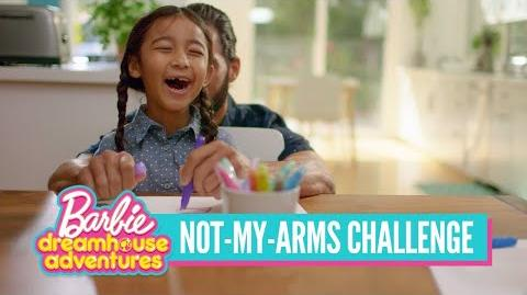 A Not-My-Arms Challenge Inspired by Barbie™ Dreamhouse Adventures